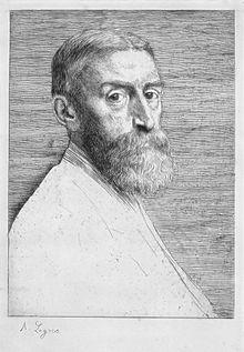 Edward J Poynter, by Alphonse Legros.jpg