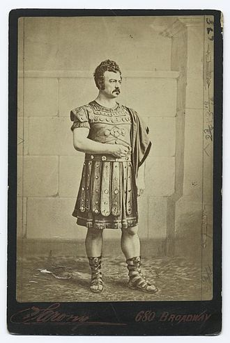 The Gladiator (play) - Edwin Forrest as Spartacus