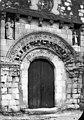 Eglise - Portail de la façade ouest - Bournand - Médiathèque de l'architecture et du patrimoine - APMH00003426.jpg