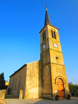 Ancerville, Moselle - The church in Ancerville