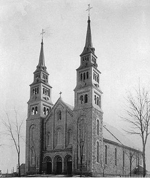 Saint-Cuthbert, Quebec - Church, St. Cuthbert, circa 1890