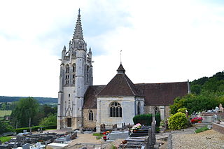 Beaumontel Commune in Normandy, France