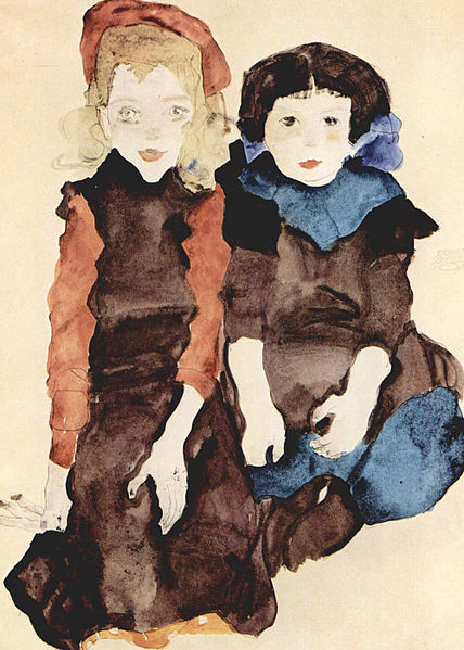 File:Egon Schiele - Children.jpg