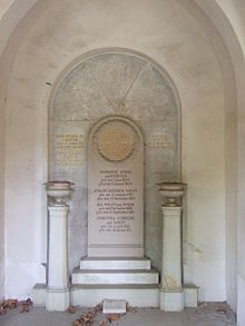 Grab von Louis Spohr im Mausoleum auf dem Hauptfriedhof in Kassel (Quelle: Wikimedia)
