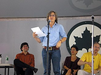 2012 in poetry - Eileen Myles reading in NYC, September 2006
