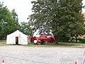 Eilenburg 1050-Jahrfeier Burgberg Sanitaetszelt.jpg