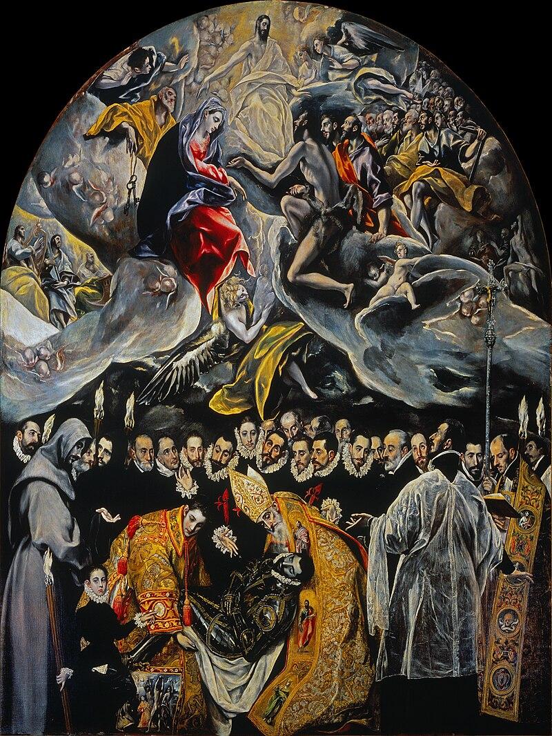 El entierro del señor de Orgaz - El Greco.jpg