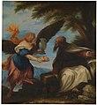 El profeta Elías y el ángel, de Juan Antonio de Frías y Escalante (Museo del Prado).jpg