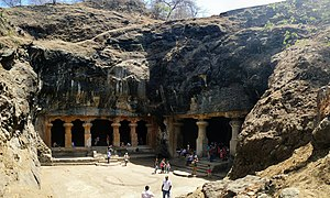 Kalachuri dynasty - Elephanta Caves