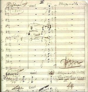 Cello Concerto (Elgar) - Image: Elgar cello concerto manuscript