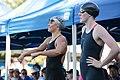 Elizabeth Pelton & Missy Franklin before 200 IM (8990375387).jpg