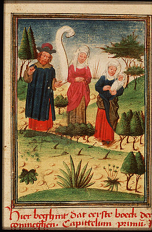 Bigamy - Elkanah and his two wives