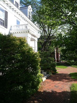 Plymouth State University - Ellen Reed House, home of the English Department faculty