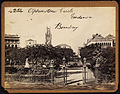 Elphinstone Circle Gardens, Bombay by Francis Frith.jpg