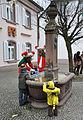 Elzach Fasnet So2014 Georg-Rapp-Brunnen 01.jpg