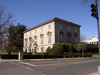 Diplomatic mission - Norwegian embassy to the United States, in Washington D.C.