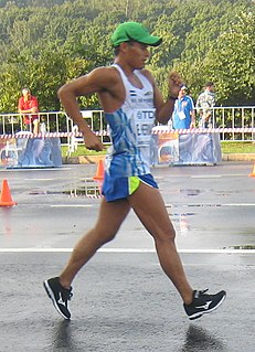 Emerson Hernández Salvadoran racewalker