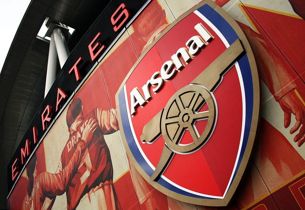 Arsenal Wikipedia: File:Emirates Stadium Logo Arsenal.JPG