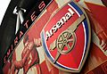Emirates Stadium Logo Arsenal.JPG