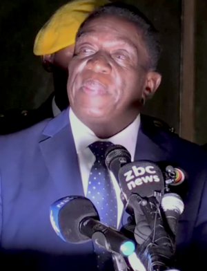 President of Zimbabwe - Image: Emmerson Mnangagwa 2017