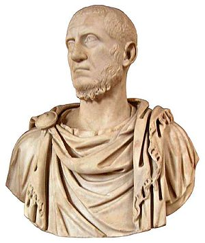 Tacitus (emperor) - Bust of the Emperor Tacitus