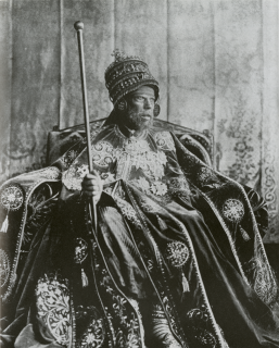 Menelik II Emperor of Ethiopia and King of Shewa