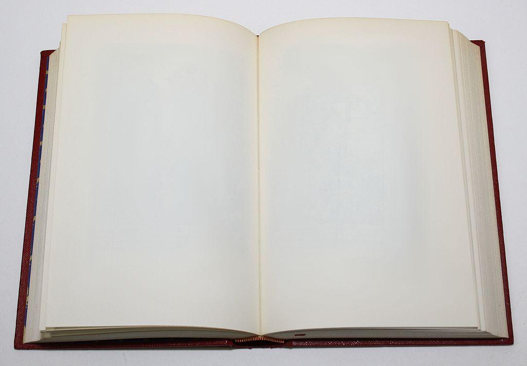File Empty Book Jpg Wikimedia Commons