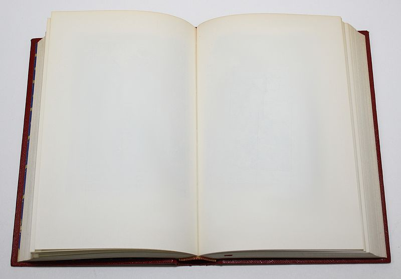File:Empty book.jpg - Wikimedia Commons