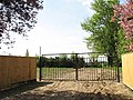 Empty plot behind gate - geograph.org.uk - 1267074.jpg