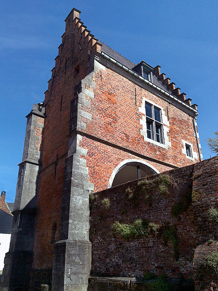 A gate tower of the castle