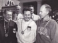 Enrico Forcella, Peter Kohnke, James Enoch Hill 1960.jpg