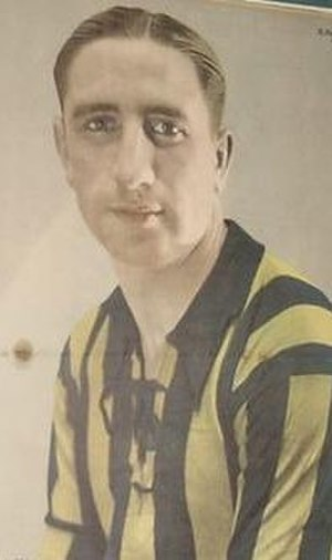 Enrique García - García in Rosario Central colours