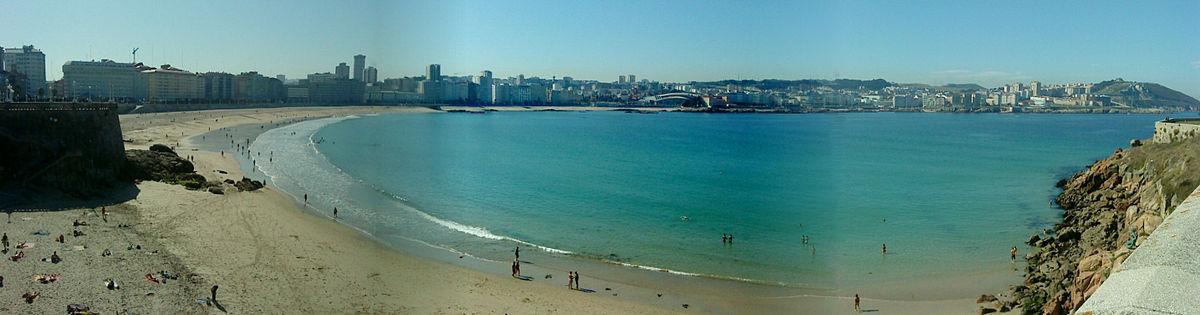 Пляж Орсан, Ла-Корунья.