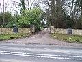 Entrance to Kitebrook House - geograph.org.uk - 1691276.jpg
