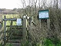 Entrance to Park Gate Down nature reserve - geograph.org.uk - 386941.jpg