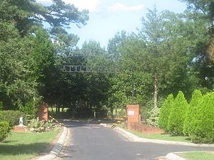Pleasant Hill, Sabine Parish, Louisiana - Image: Entrance to Pleasant Hill Battle Park IMG 2501