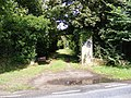 Entrance to the Cemetery, Yoxford - geograph.org.uk - 1417867.jpg
