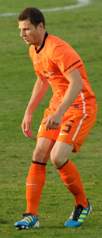 Erik Pieters - Pieters in action for the Netherlands national team