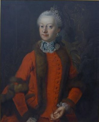 Princess Ernestine of Saxe-Weimar - Image: Ernestine of Saxe Weimar duchess of Saxe Hildburghausen