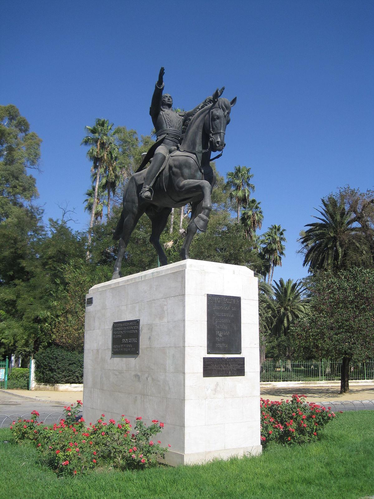 Monumento a sim n bol var sevilla wikipedia la for Donde queda santa cruz