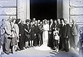 Esküvői fotó, 1946 Budapest. Fortepan 104622.jpg