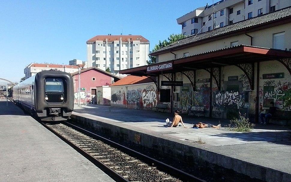 Estación O Burgo Santiago Culleredo