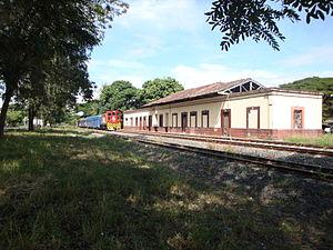 Bugalagrande - Image: Estacion del tren Bugalagrande valle