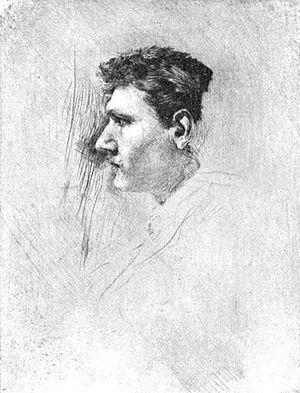 Robert Frederick Blum - Self-Portrait of Robert Frederick Blum