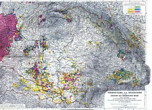 German diaspora - Ethnic Germans in Hungary and parts of adjacent Austrian territories, census 1890