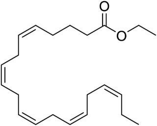 Ethyl eicosapentaenoic acid chemical compound