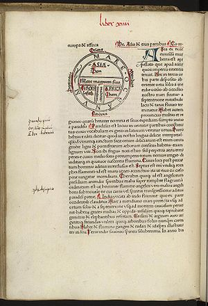 Etymologiae - An early printed edition, by Guntherus Zainer, Augsburg, 1472. British Library