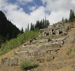 Eureka, Colorado Mining ghost town in Colorado, United States