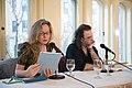 European Voices A Reading & Conversation with Christos Ikonomou and Karen Emmerich (25963093853).jpg