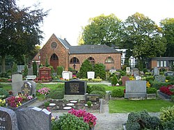 Cemetery in the locality Kirchsteinbek.